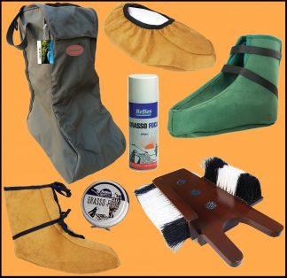 Accessori Scarponi, Stivali ed Abbigliamento