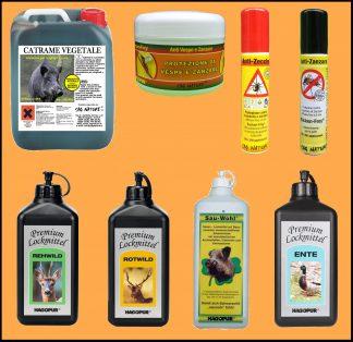 Attrattivi e repellenti per animali